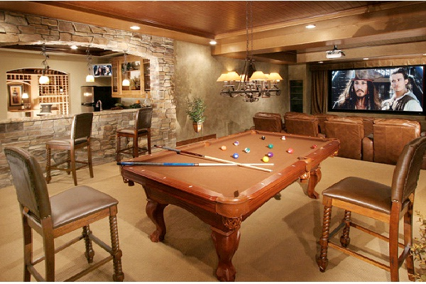 Classy Cave-Awesome Man Caves