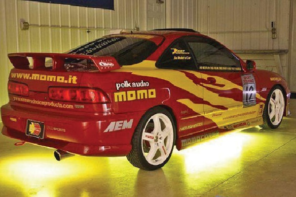 Acura Integra DC2-Coolest Cars In The Fast And The Furious