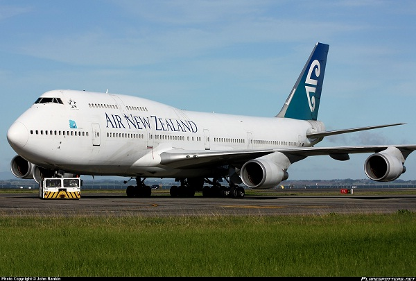 Air New Zealand-Safest Airlines