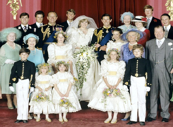 Prince Charles & Lady Diana - $115 Million-Most Expensive Weddings Ever