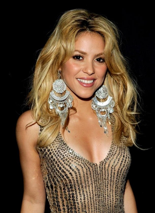 Shakira-Celebrities With Highest Fan Following
