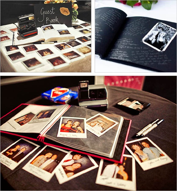 Polaroid Guestbook-Amazing Unique Wedding Ideas
