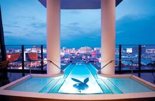 Palms Resort, Las Vegas - Hugh Hefner Sky Villa - $35,487-Most Expensive Honeymoon Destinations In The World
