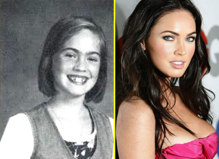 Megan Fox-15 Images That Show Puberty Doing It Right
