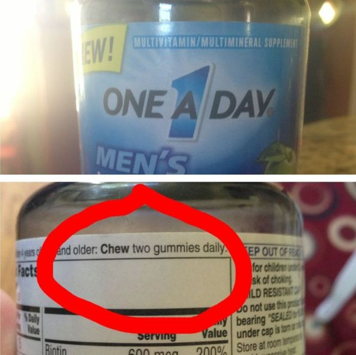 One Brand, Two Advices-15 Images That Will Give You Real Trust Issues