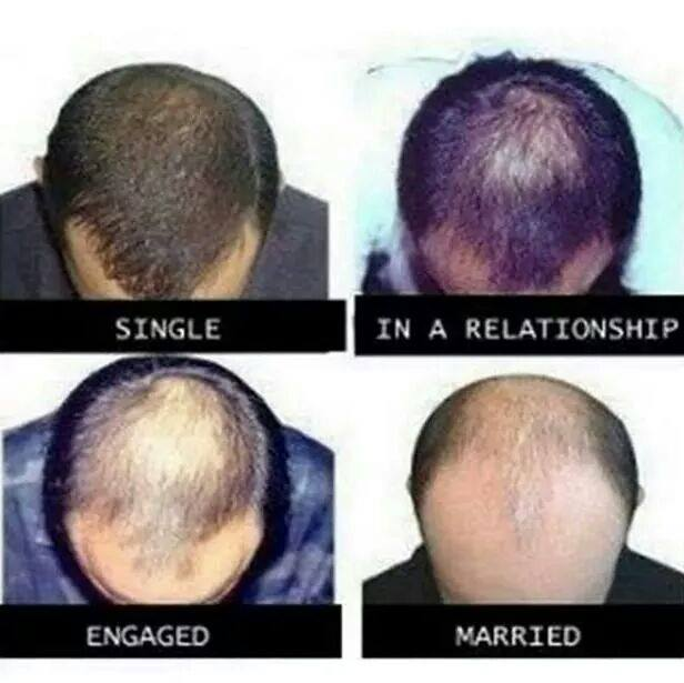 Your Head Will Slowly Turn Into a Soccer Stadium-15 Images That Show Striking Difference Between Single And Married Life