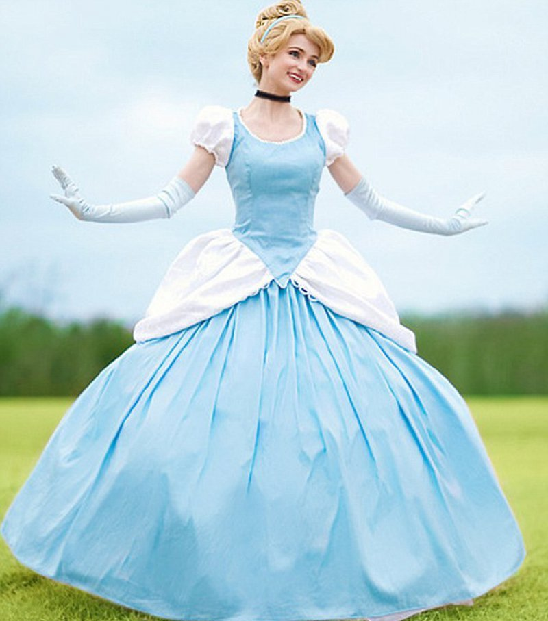 She Says Becoming a Disney Princess isn't an Easy Job-Girl Who Spent ,000 To Look Like Disney Princesses
