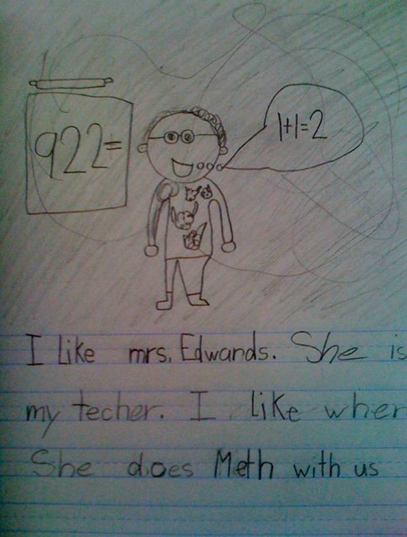 This Kid Who Loves the Math Teacher-15 Kids Who Are Too Innocent For This Dirty World