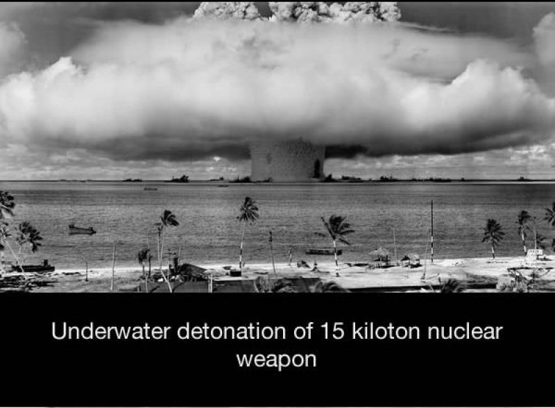 Underwater Nuclear Tests-15 Historical Pictures That Are Really Shocking