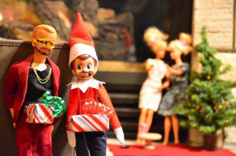Elf on the Shelf with Justin Timberlake-15 Hilarious Photos Of The Elf On The Shelf Gone Wrong
