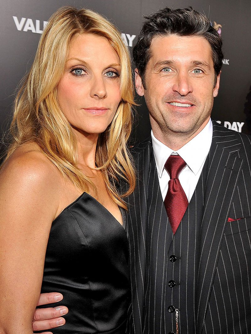 Patrick Dempsey And Jillian Fink-12 Celebrities Who Married Normal People