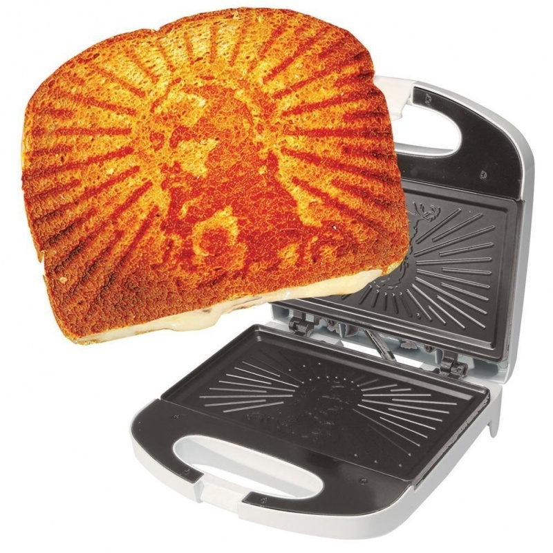 Grilled Cheesus Machine-7 Bizarre Kickstarter Campaigns You Could Fund