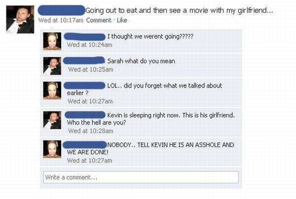 This is Weird and Awkward-15 Times People Exposed Their Cheating Partners On Facebook
