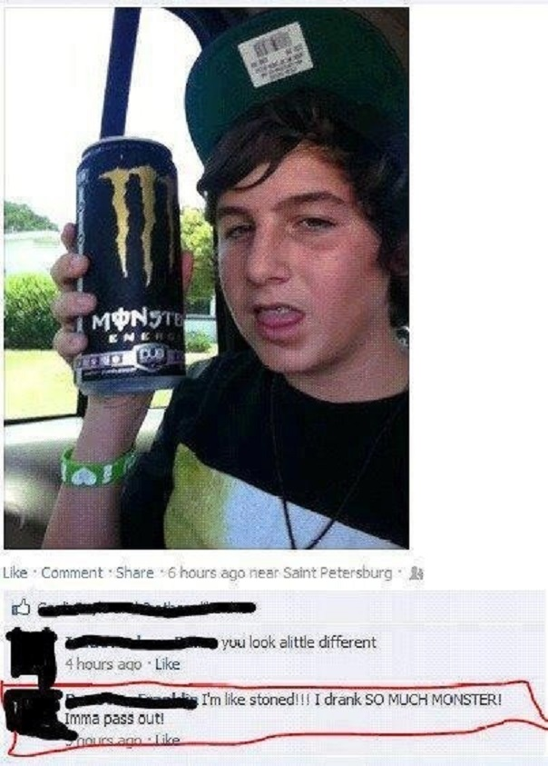 One Doesn't Simply Get Wasted by Monster Energy-15 Dumb People Who Need To Reevaluate Their Life Decisions