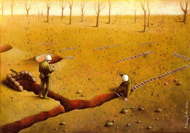 Recovery-Thought-Provoking Satirical Illustrations By Pawel Kuczynski