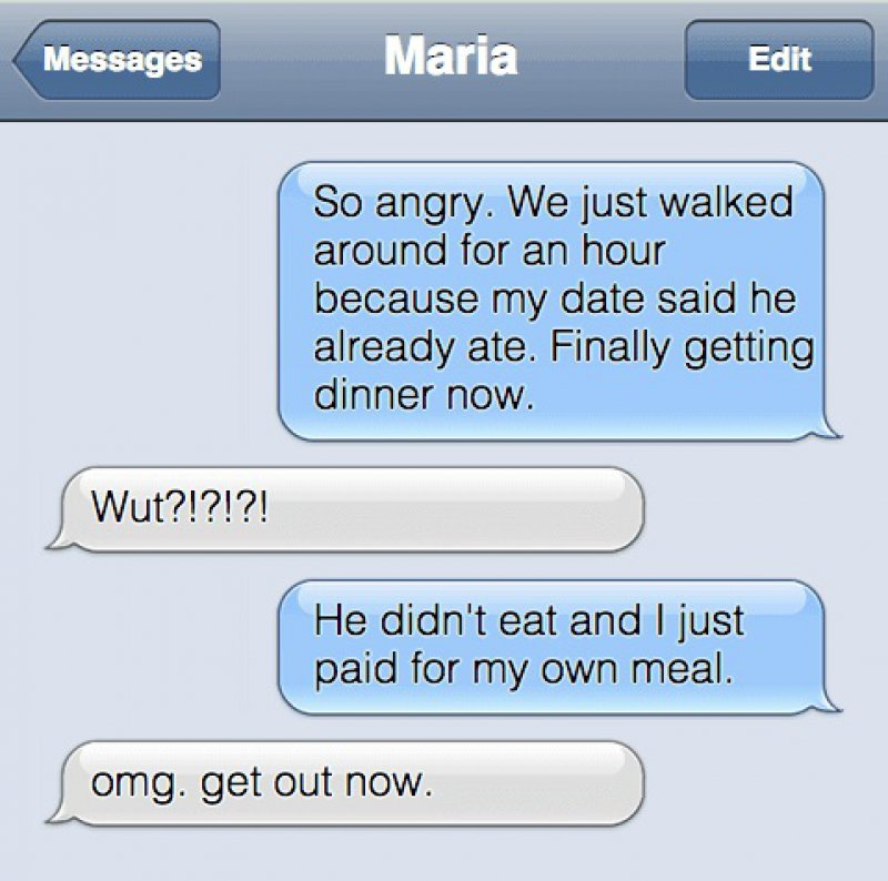 The Cheapest Date Fail We Have Ever Heard-15 Desperate Dating Texts That Are Sure To Make You Laugh