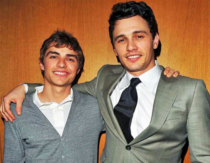 James Franco-15 Celebrities With Their Better Looking Siblings