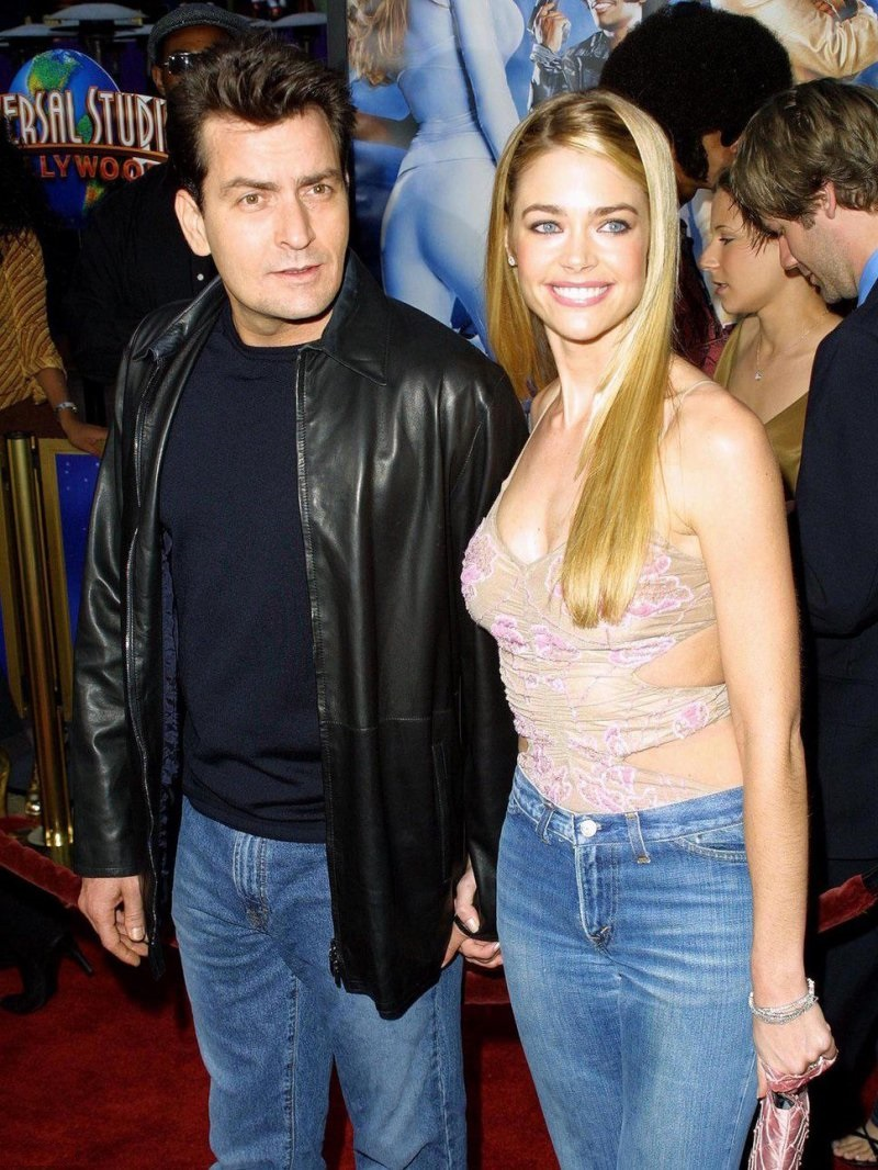 Charlie Sheen And Denise Richards-Charlie Sheen And His 13 Well Known Girlfriends