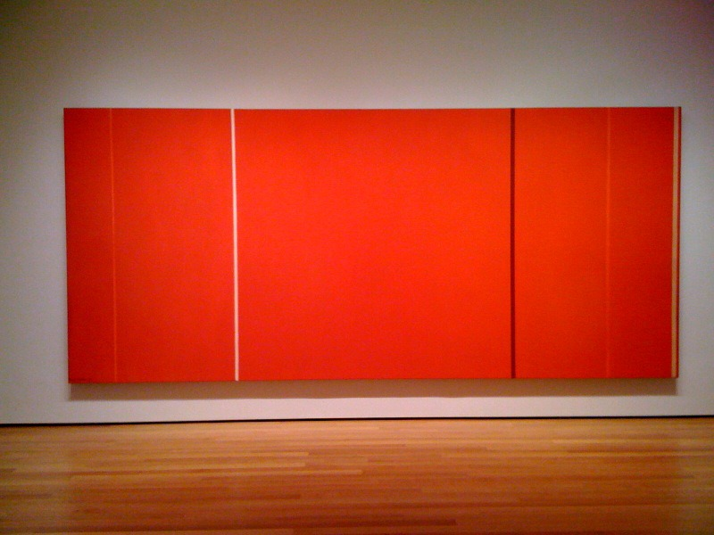 Anna's Light, 1968 by Barnett Newman (5.7 Million)-15 Ridiculous Paintings Sold For Millions Of Dollars