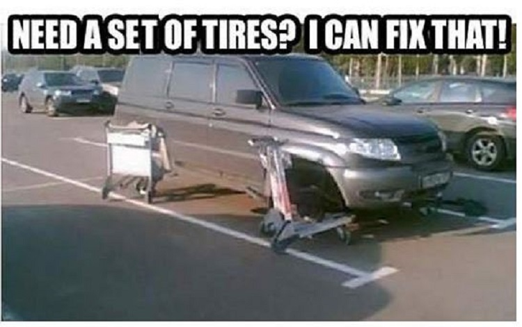 This Crazy Car Tires Fix-15 Times Engineers Showed How To Fix Things Easily