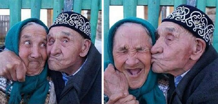 Geeky Grandpa Needs Some Selfies for Facebook-15 Amazing Old Couples That Show Love Never Gets Old