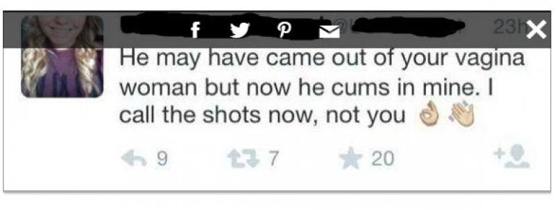 Clever Use of Words There-15 Most Disgusting People In The History Of Twitter