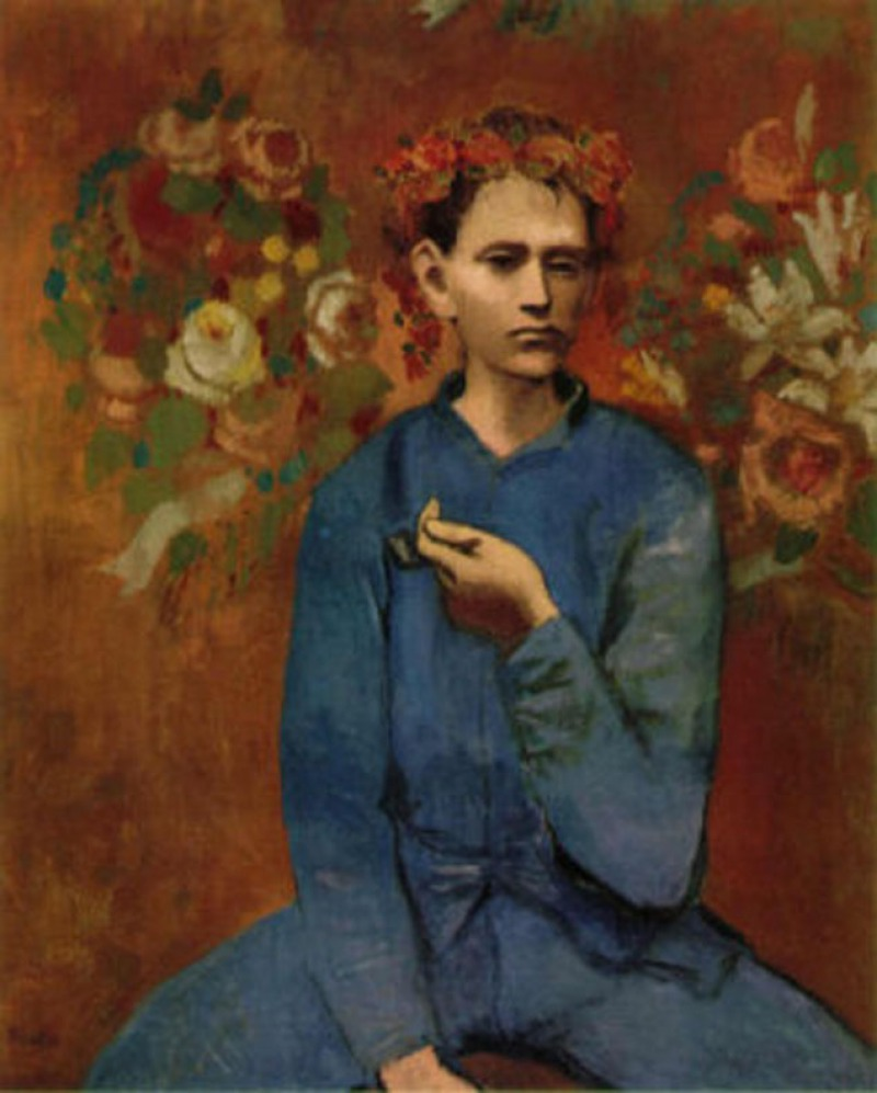 Boy with a Pipe, 1905 by Pablo Picasso (7 Million)-15 Ridiculous Paintings Sold For Millions Of Dollars