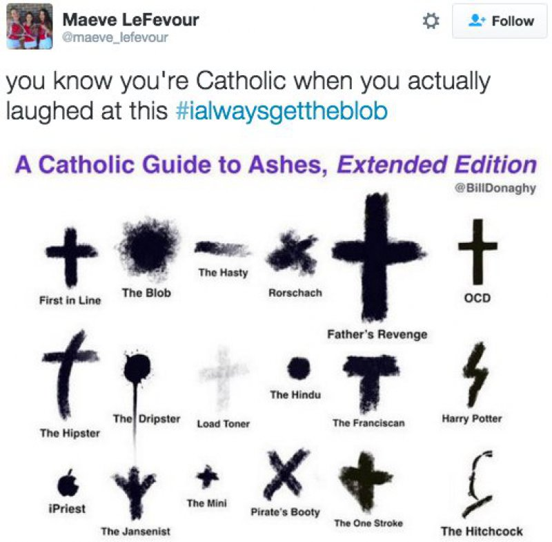 This Chart that Makes Only Catholics Laugh-15 Tweets Only Catholics Will Understand