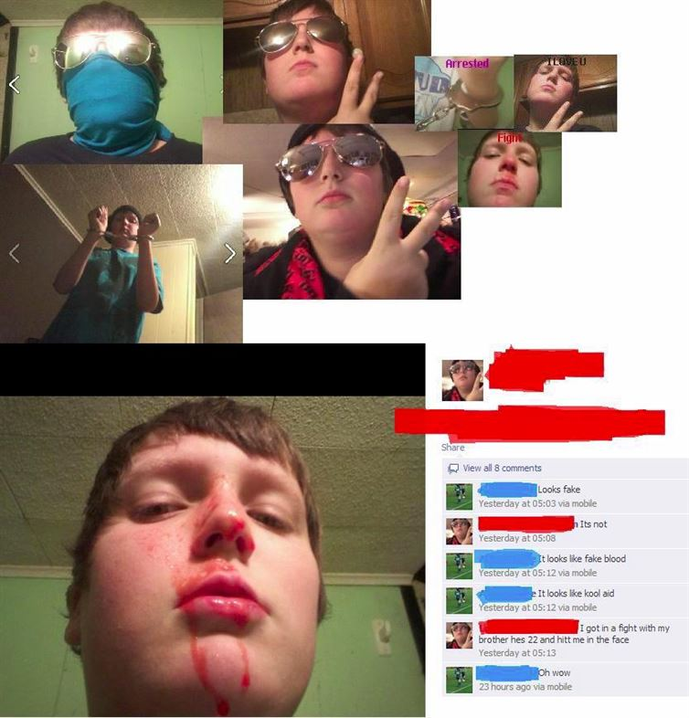 (Fake) Blood & Glory!-15 Dumb People Who Need To Reevaluate Their Life Decisions
