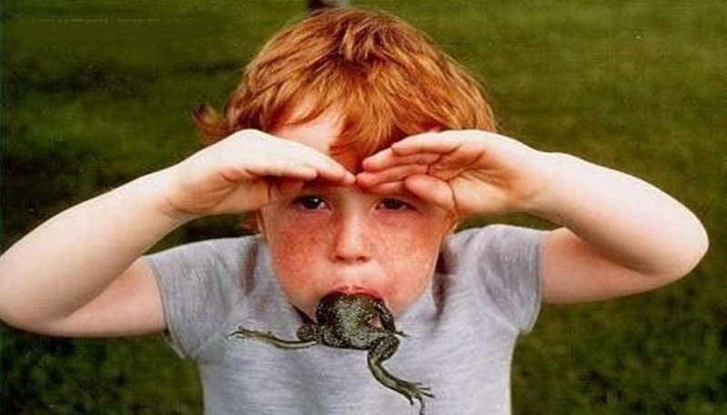 This Kid Who Eats Frog for Breakfast-15 Times Kids Were Found Being Silly And Funny
