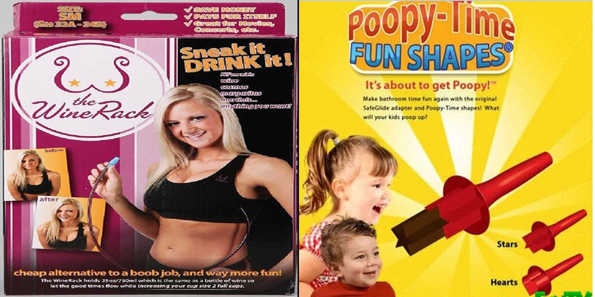 15 Most Inappropriate Products Ever Made