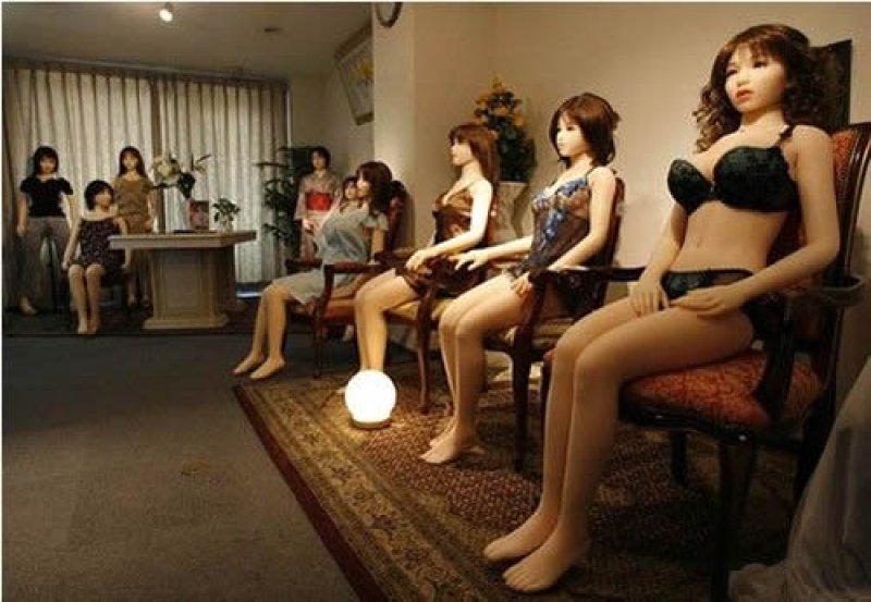 Японский бордель порно