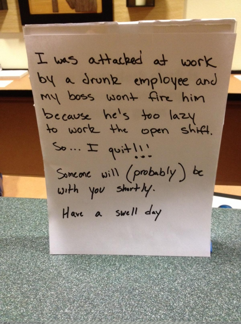 This Quiet Yet Painful Exit-15 People Who Quit Their Job In Style