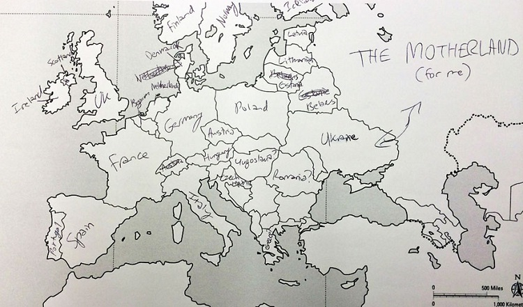 A Russian perhaps?-Europe According To Americans