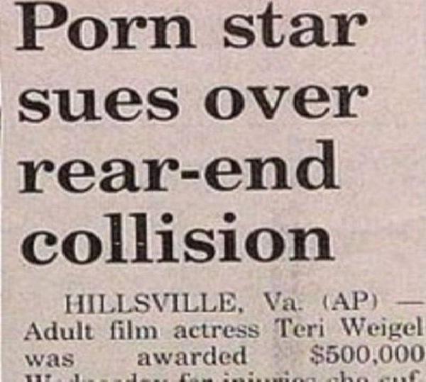 porn star-12 Funniest Newspaper Headlines Ever Written