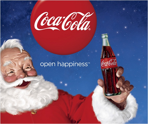 Santa and Coca Cola-Biggest Lies Told On The Internet