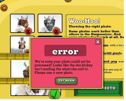 That explains it-Funny Website Error Messages