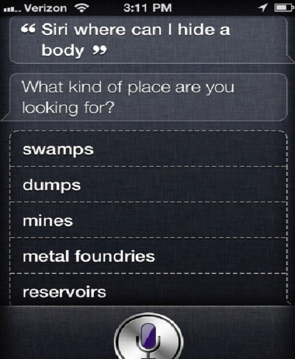 Siri The Accomplice-12 Funny Conversations You Can Have With Siri