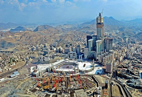 Makkah Clock Tower-Tallest Buildings In The World