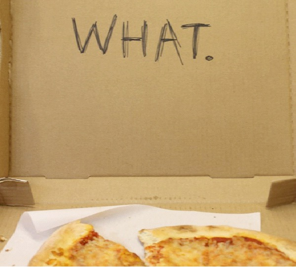 """What?-Funny """"Special Request"""" Pizza Box Drawings"""