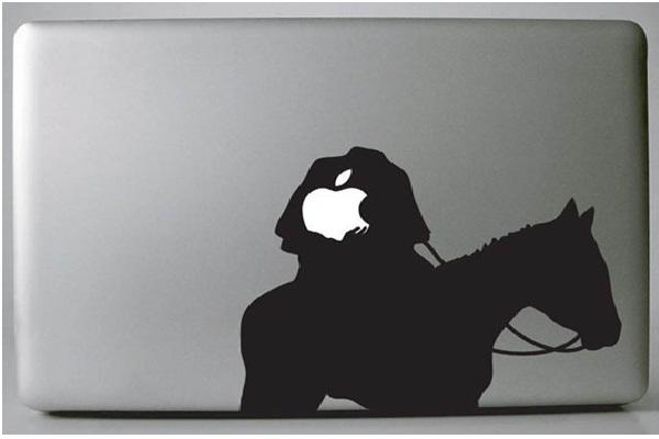 Headless Horseman-Funny MacBook Stickers