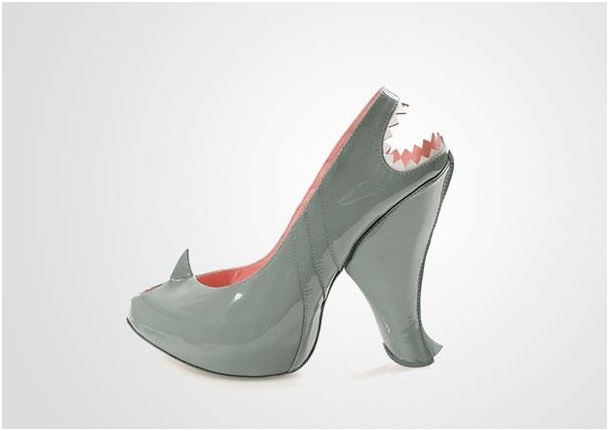63461832b60 Shark Heels-Crazy Yet Creative High Heel Designs By Kobi Levi