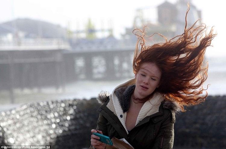 Wind-Long Hair Problems