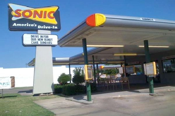 Sonic Burger-Top Fast Food Restaurants In The World