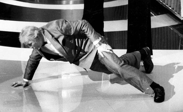 Jack Palance-Most Bizarre Moments At Oscars Ever