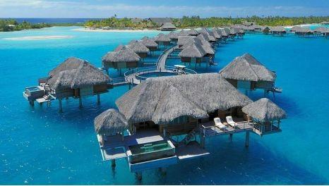 Four Seasons, Bora Bora-Most Amazing Hotels Around The World