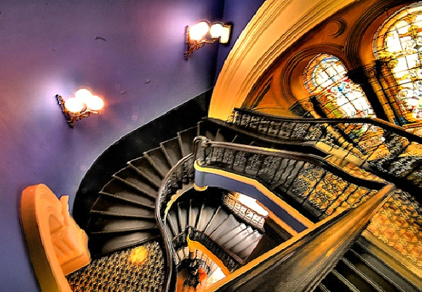 Queen Victoria Building - Australia-Amazing Staircases In The World
