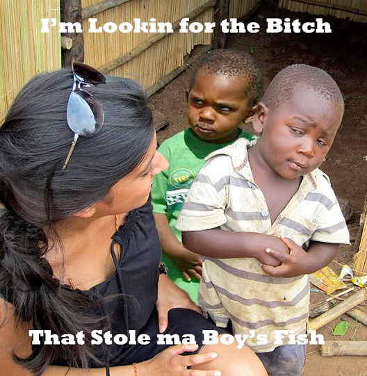 On Fish?-12 Best Skeptical Third World Kid Memes Ever