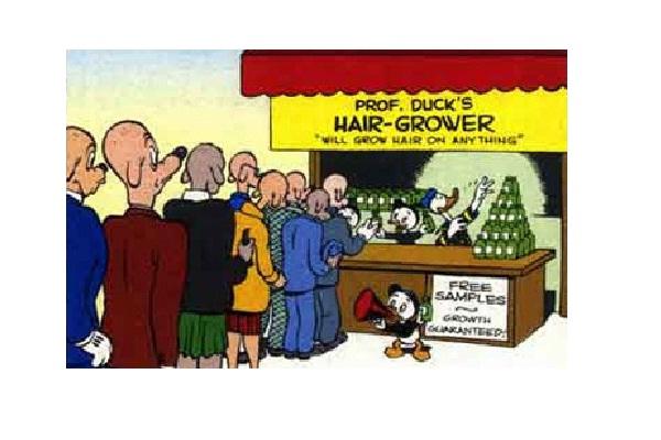 Donald Duck & hair tonic-Most Ridiculous Cartoon Censorship