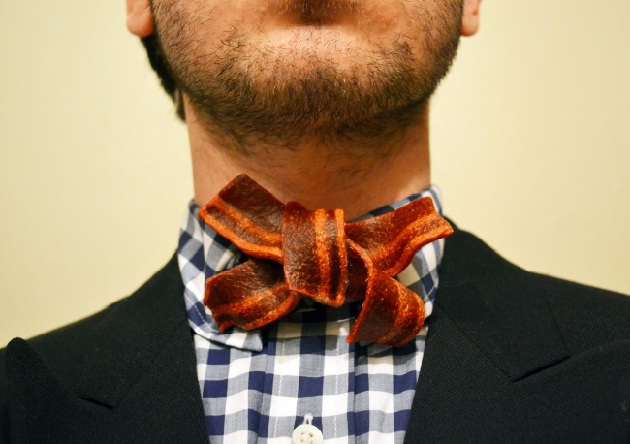 Bacon bow tie-Fascinating Facts About Bacon